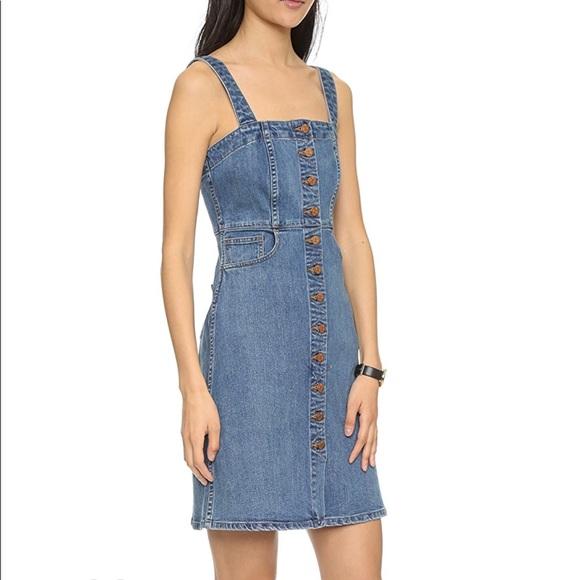 511c0e6bf6 Madewell Dresses   Skirts - Madewell Denim Overall Dress in True Indigo